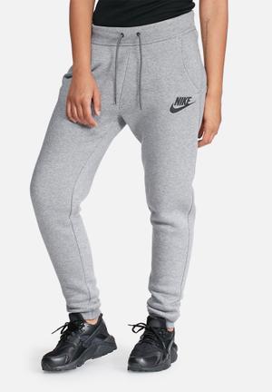 Nike Rally Pants Bottoms Grey Melange