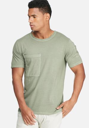 Only & Sons Tao Slim Tee T-Shirts & Vests Green