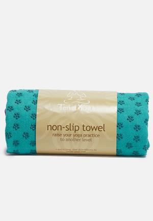 Terra Yoga Non-slip Yoga Towel Fitness Trackers & Accessories Turquoise & Purple