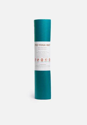 Terra Yoga Yoga Mat Pro Fitness Trackers & Accessories Turqouise