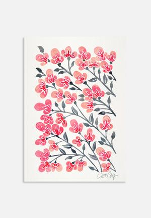 Cat Coquillette Cherry Blossoms Art
