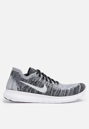 Nike Free Rn Flyknit 2 Sneakers Black/ White-Volt