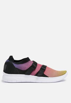 Nike Air Sockracer Flyknit Prm Sneakers Yellow Strike / White-Racer Pink Black
