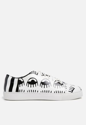 E8 By Miista Hera Sneakers Black & White