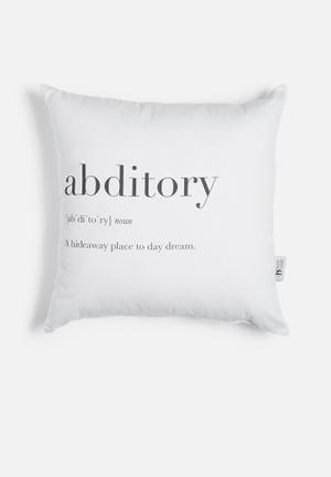 Sixth Floor Abditory Printed Cushion Cotton Twill