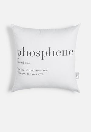 Sixth Floor Phosphene Printed Cushion Cotton Twill
