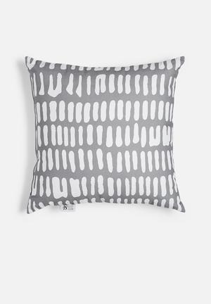 Sixth Floor Smog Printed Cushion Cotton Twill