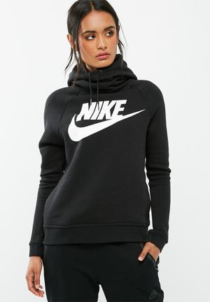 Nike Rally Hoodie Gx2 Hoodies & Jackets Black & White