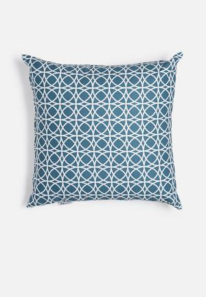 Sixth Floor Spiro Printed Cushion Cotton Twill