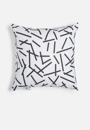Sixth Floor Confetti Printed Cushion Cotton Twill