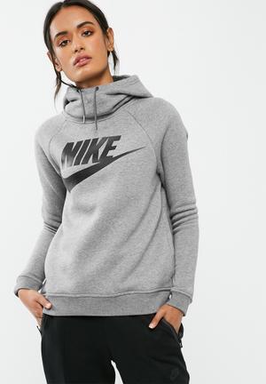 Nike Rally Hoodie Gx1 Hoodies & Jackets Grey & Black