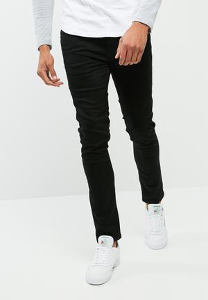 Basicthread Skinny Denim Jeans Black