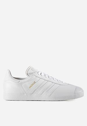 Adidas Originals Gazelle Sneakers Off White / Metallic Old Gold
