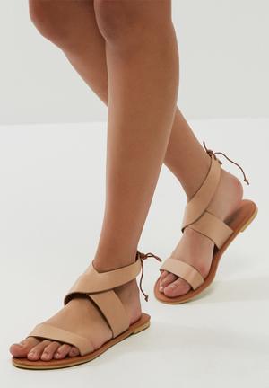 Dailyfriday Arianna Leather Sandal  Nude