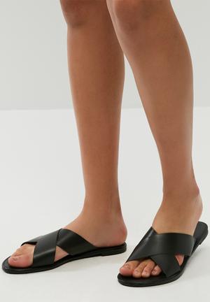 Dailyfriday Ciara Leather Sandal Black