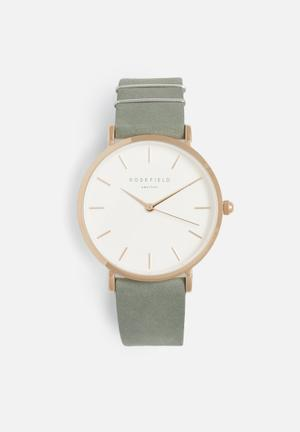 ROSEFIELD West Village Watches Mint / Grey / Rose Gold