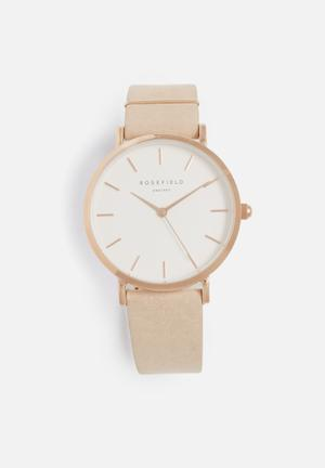 ROSEFIELD West Village Watches Pink & Rose Gold
