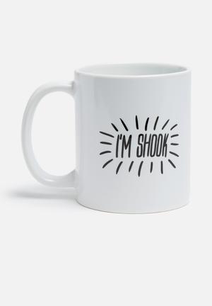 Sixth Floor I'm Shook Mug Ceramic
