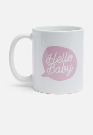 Sixth Floor Hello Baby Mug Ceramic