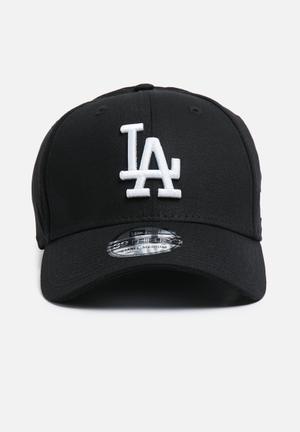 New Era 39Thirty LA Dodgers Headwear Black & White