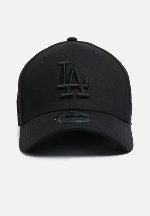 New Era 39Thirty LA Dodgers Headwear Black