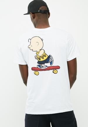 Vans Good Grief Pocket Tee T-Shirts & Vests White