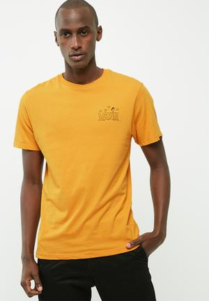 Vans Classic Snoopy T-Shirts & Vests Mustard