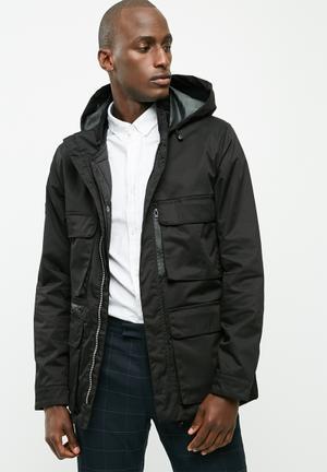 Bellfield Mens 2 In 1 Jacket Black