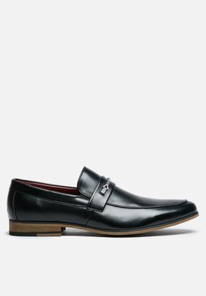 Anton Fabi Alrico Slip-ons And Loafers Black