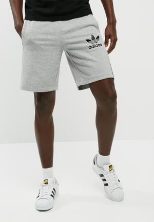 Adidas Originals CLFN FT Shorts Grey Melange