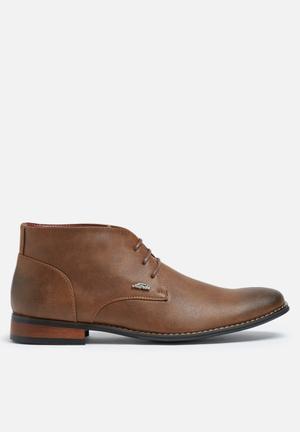 Anton Fabi Mendis Boots Brown