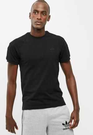 Adidas Originals CLFN Pique Tee T-Shirts Black