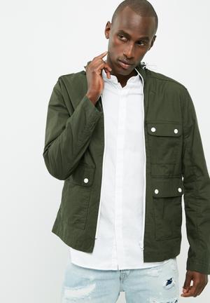 PRODUKT Pro Boy Utility Jacket Khaki