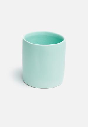 Urchin Art Small Tumbler Vase Accessories Ceramic