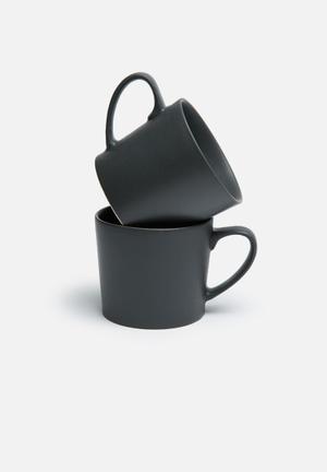 Urchin Art Mug Set Ceramic