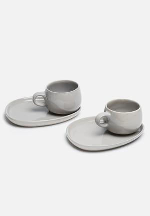 Urchin Art Mug Platter Ceramic