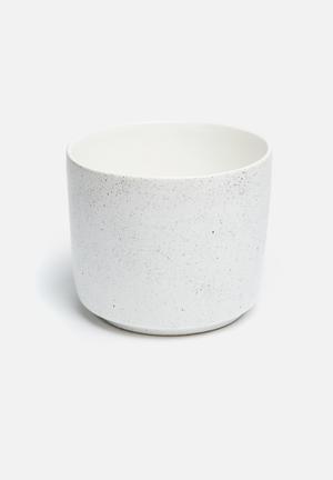 Urchin Art Speckle Coco Pot Accessories Ceramic