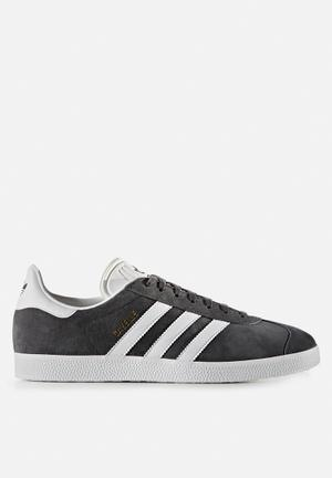 Adidas Originals Gazelle Sneakers Solid Grey / White