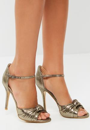 Footwork Guiliana Heels Gold