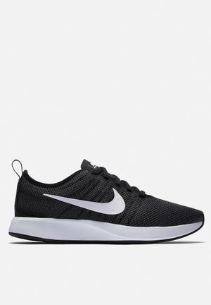 Nike W Dualtone Racer Sneakers Black / White / Dark Grey