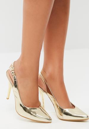 Footwork Kai Heels Gold