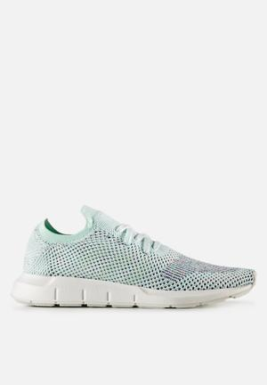 Adidas Originals Swift Run PK Sneakers Ice Blue/White
