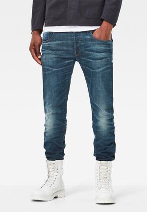 G-Star RAW 3301 Slim Denim Jeans Medium Wash