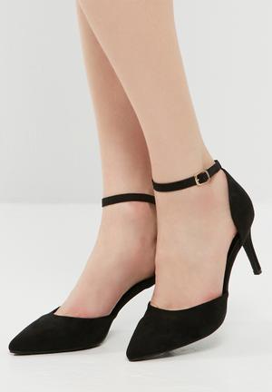 Dailyfriday Selena Pointed Stiletto Heels Black