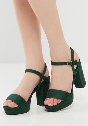 Dailyfriday Isabella Block Heel Green