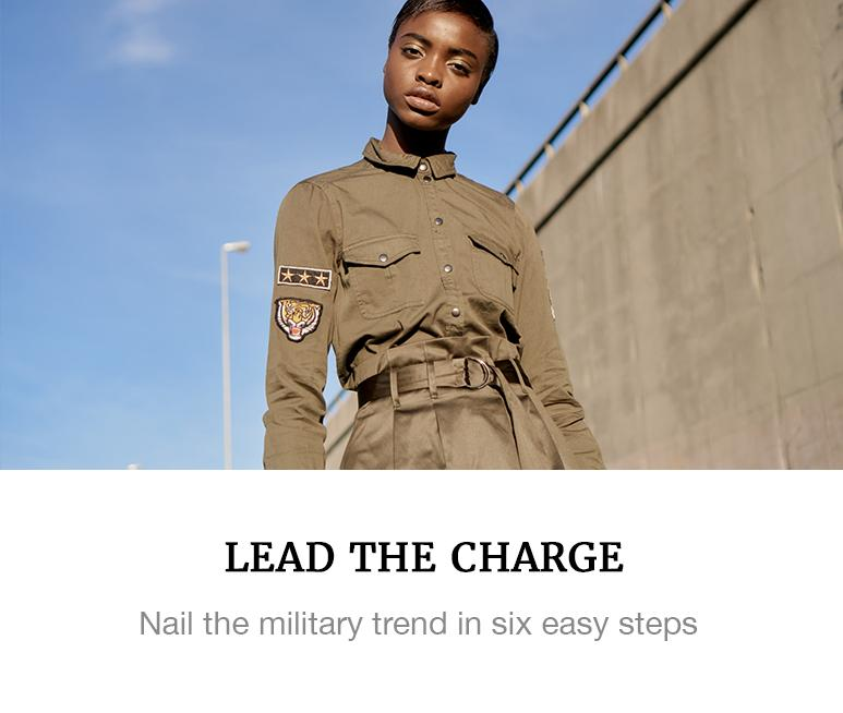 military trend fashion superbalist