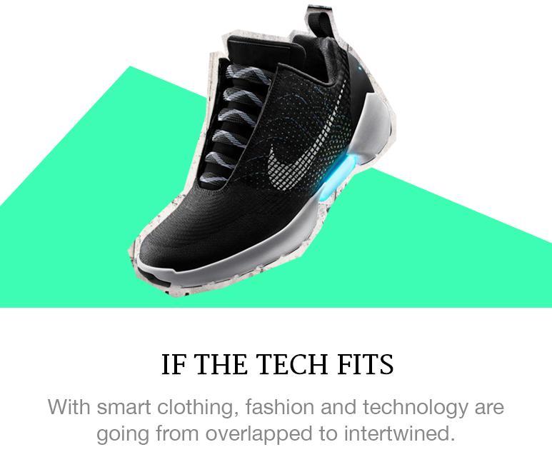 Fashion goes hi-tech