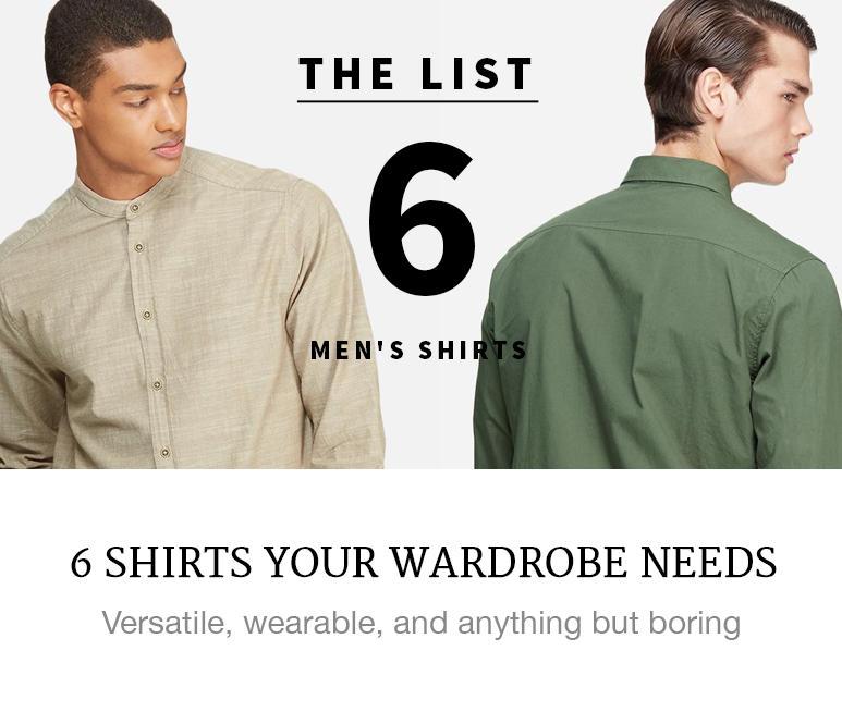 men's shirts you need superbalist fashion style blog