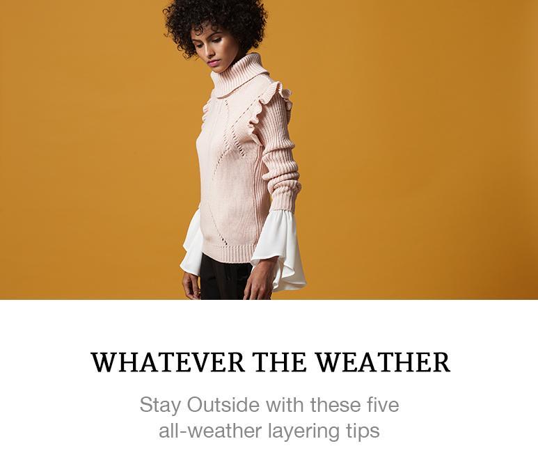 winter fashion layering