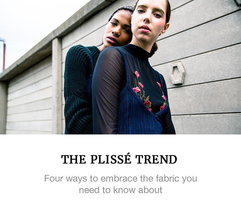 The plisse trend